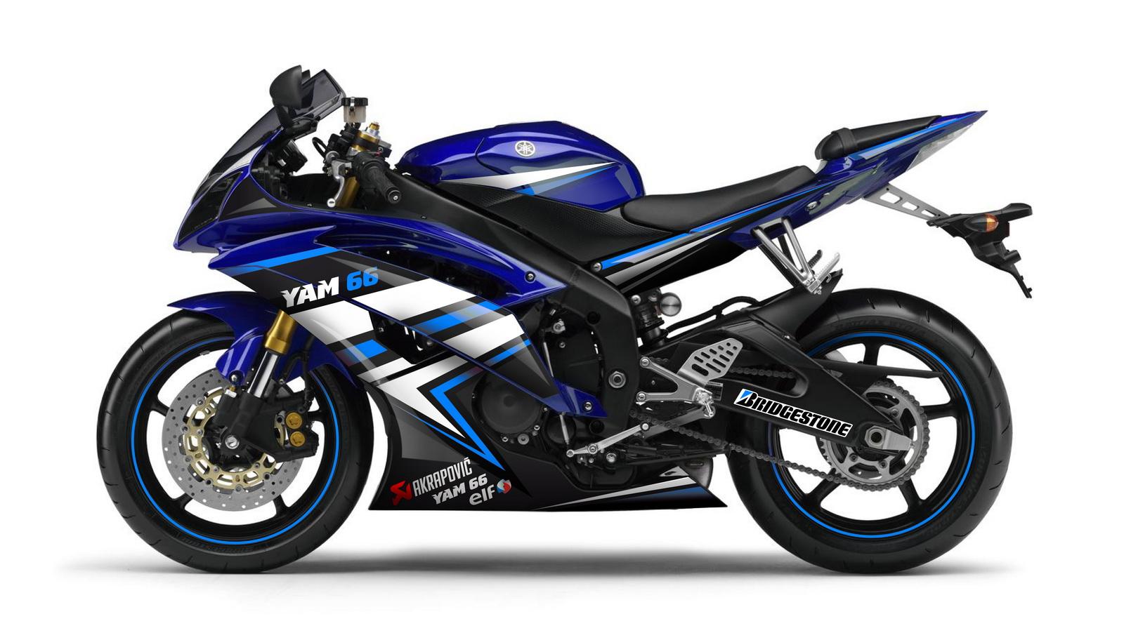 Kit déco client pour Yamaha R6 \u2013 Concessionnaire YAM66