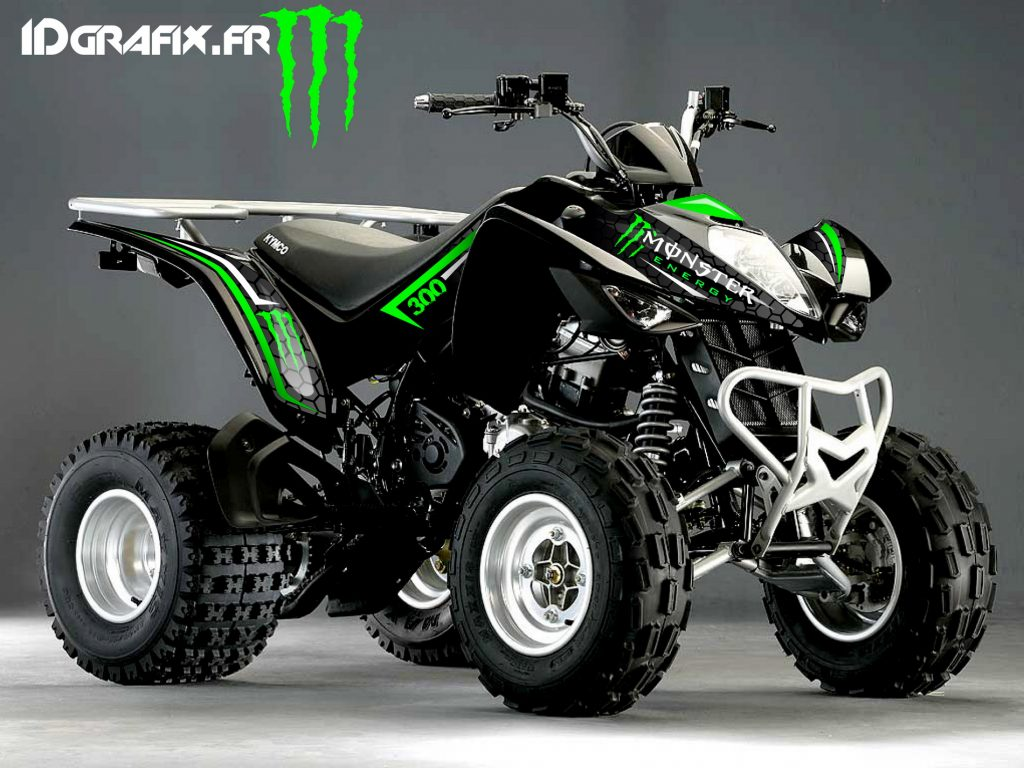 MAXXER300 monster energy