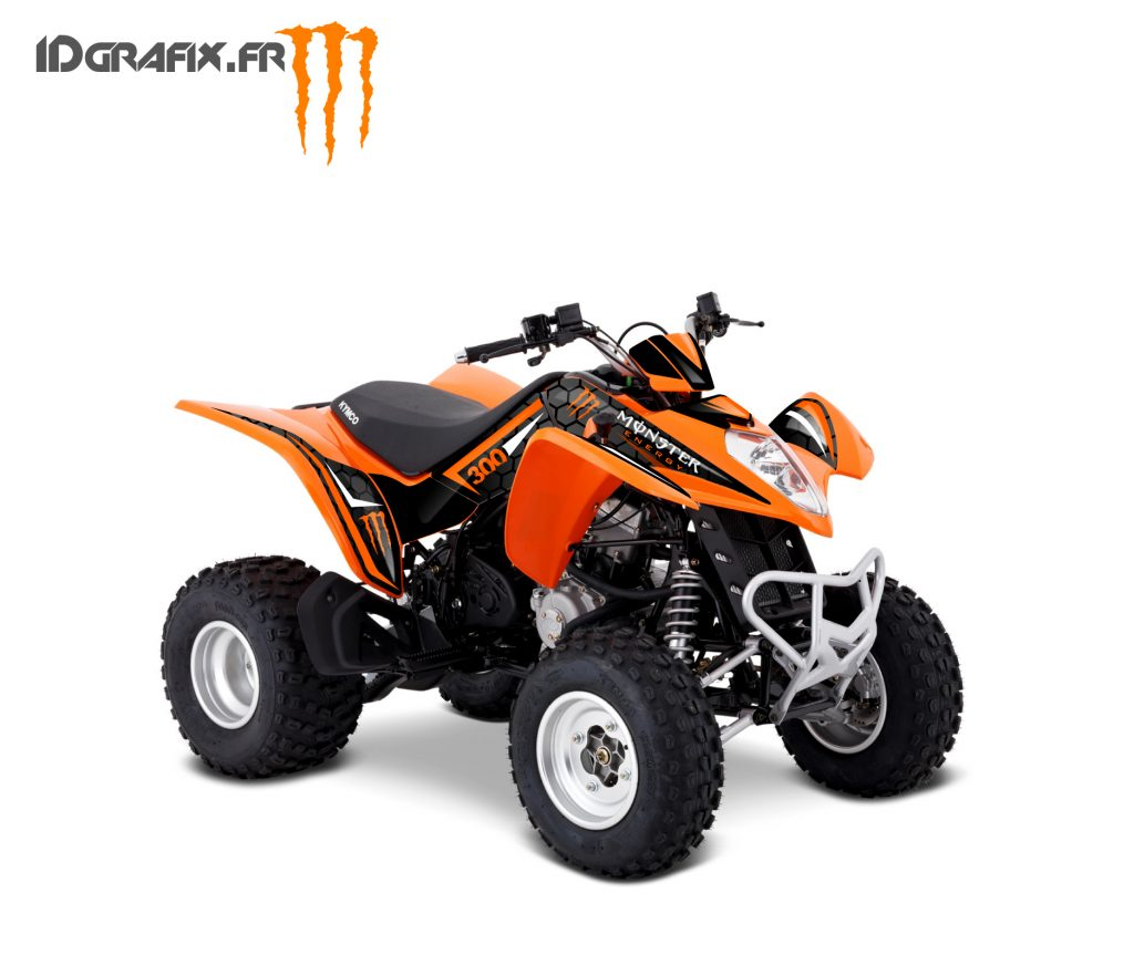 MAXXER300 orange monster