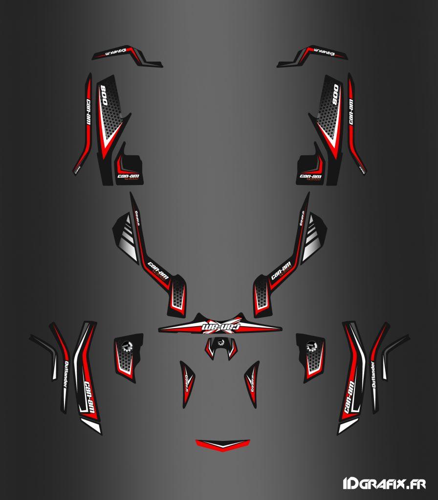 Outlander X limited G1 Rouge