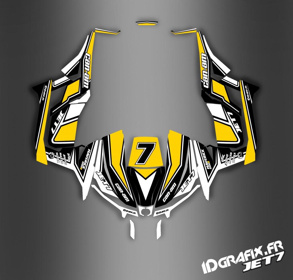 Maverick Jet 7 jaune line