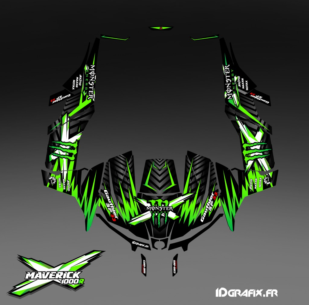 Maverick monster energy sp33