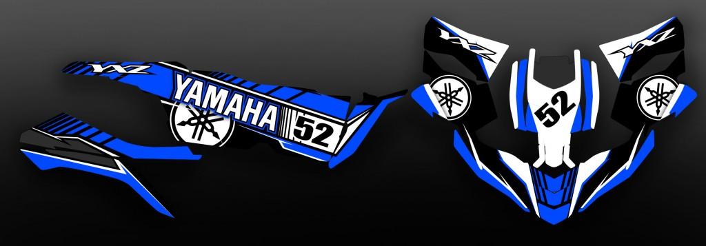 YXZ 1000 bleu