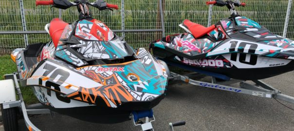 NEW les kits décoration pour Jetski SEADOO TRIXX