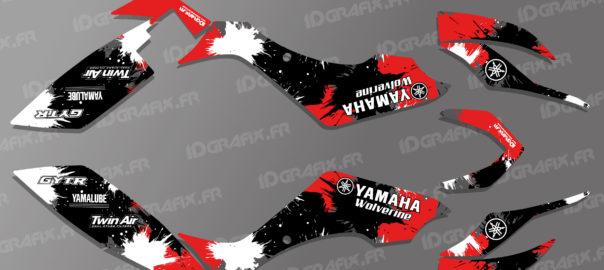 Kit déco pour quad Yamaha 350 et 450 Wolverine