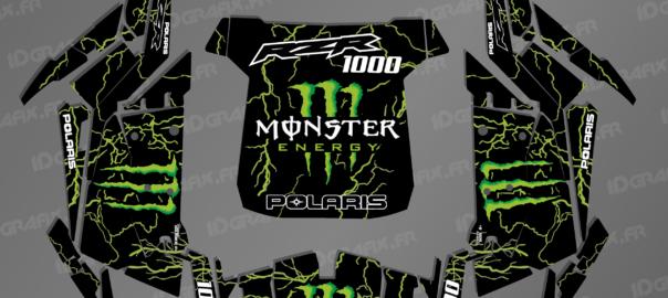 Kit déco pour RZR 1000 – Monster edition