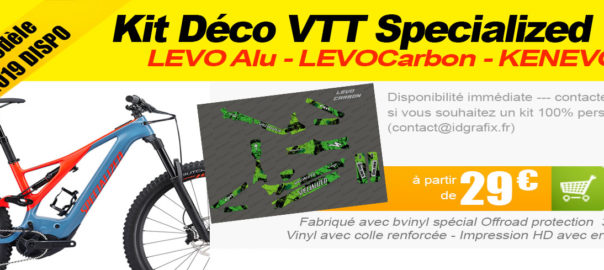 New Kit déco VTT Specialized LEVO 2019