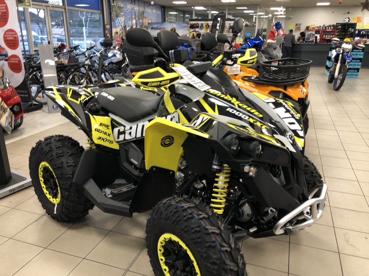 Kit déco Can Am Renegade 2019 – Concession Gauthier Castillon
