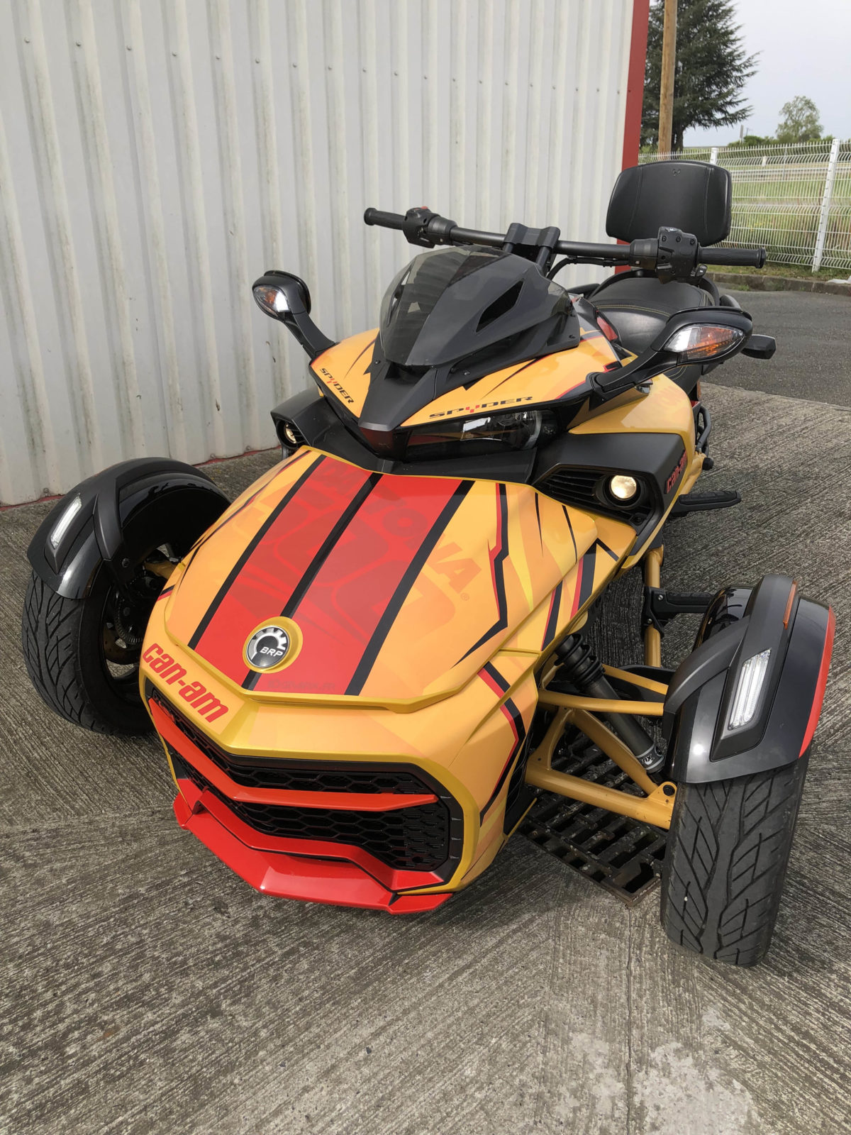 Kit deco Can Am Spyder F3